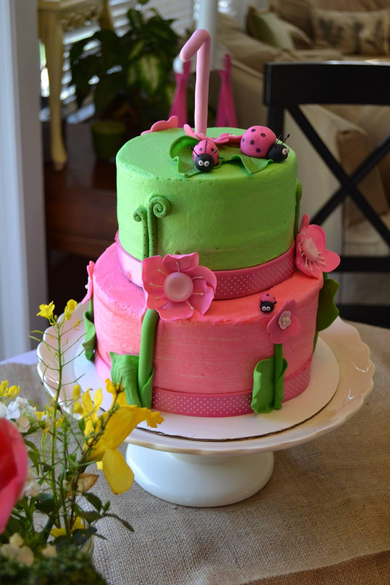 First birthday cake caked custom cakes and cupcakes garden party cake izmirmasajfo