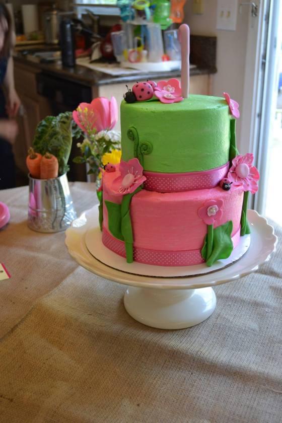 Garden Party Cake