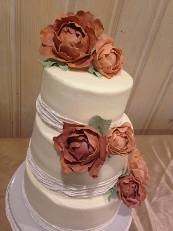 Fair Wedding Cake
