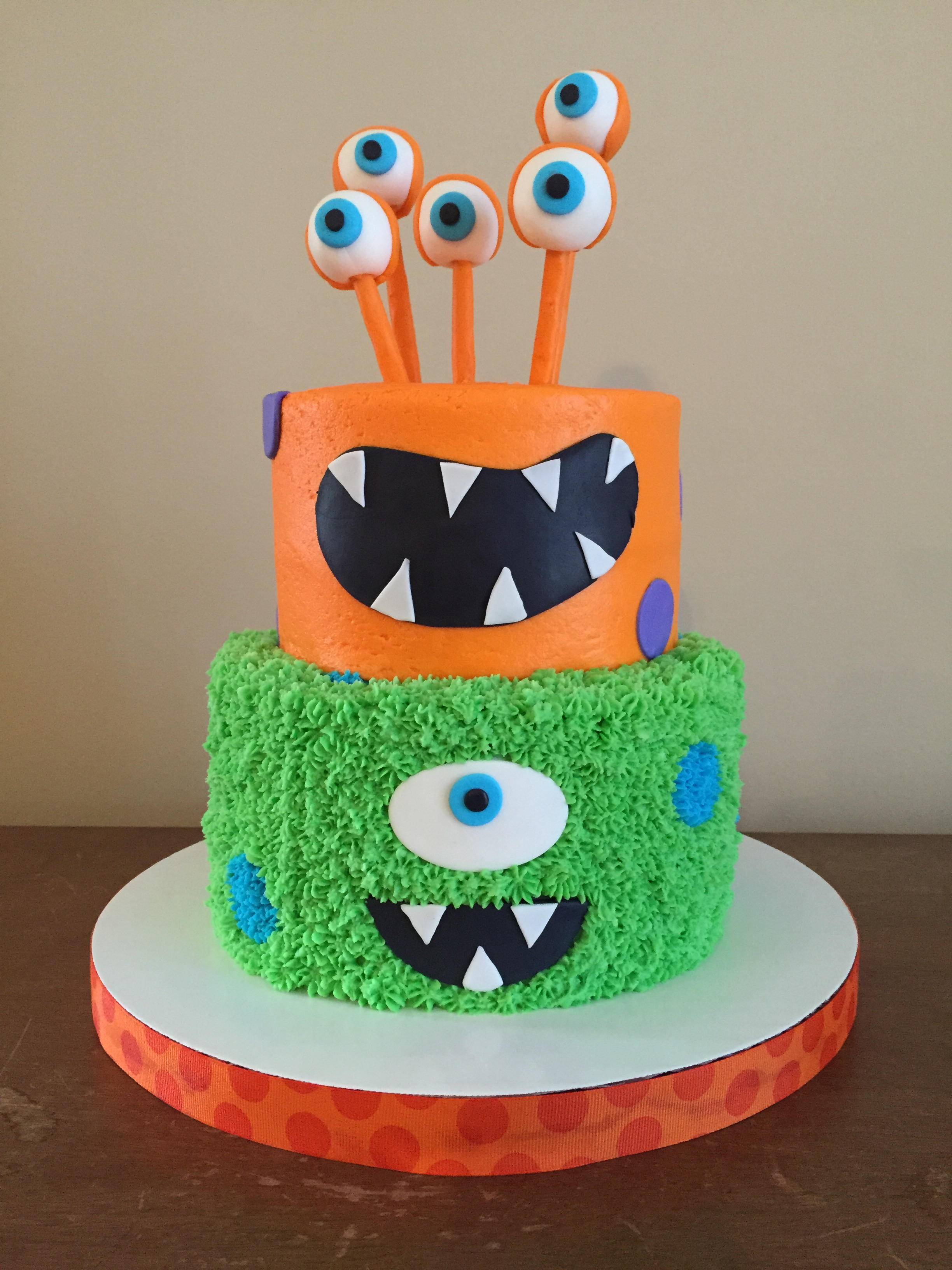 monster cake Caked Custom Cakes and Cupcakes
