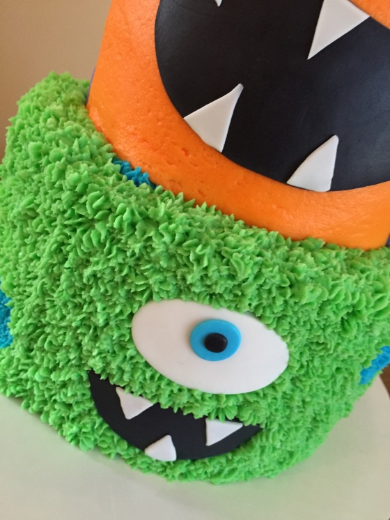 Monster Cake Closeup