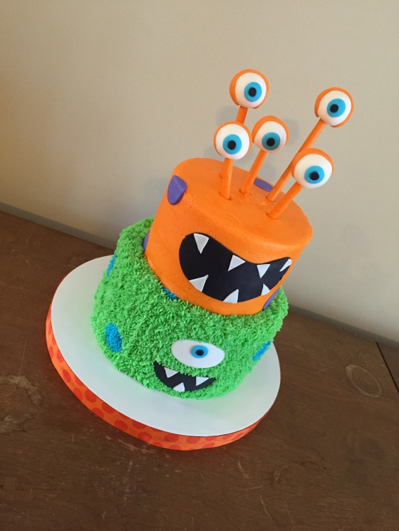 Monster Cake Down View
